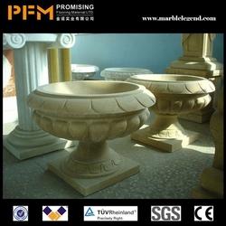2014 PFM hot sale natural beautiful hand carved apta aegean beehive urn
