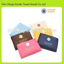 Fancy printing foldable shopping bag