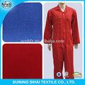 Poliéster de algodón spandex estiramiento garment tela tela