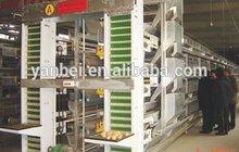H Type Multi-tier Hot Galvanized Automatic Chicken Cage