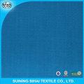 Los hogares orgánica de sarga tela algodón 100% textil