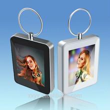 1.5 inch mini keychain card digital photo frame