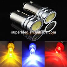 12V led projector headlight 3w led car license plate light ba9s led auto light
