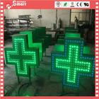 aluminum frames 3d led cross sign pharmacy