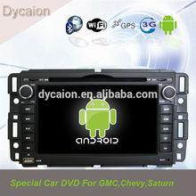 car dvd touch screen gps for gmc sierra/Android GMC/7inch car radio GMC sierra