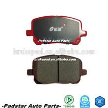 D923 Pontiac automobile disc car brake pads Toyota Avensis parts MPV 2.0 D-4D