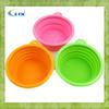 G-2014 Lfgb Foldable Dog Water Bowl/pet Travel Water Bottle Bowl/silicone Dog Bowl