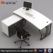 White most popular wooden office director desk
