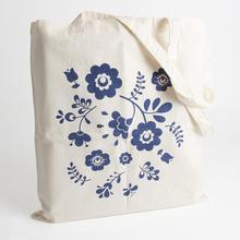 Modern New Design High Quality stripe canvas beach tote shopping bag