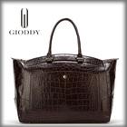 The classical design ladies luxury handbags made in thailand