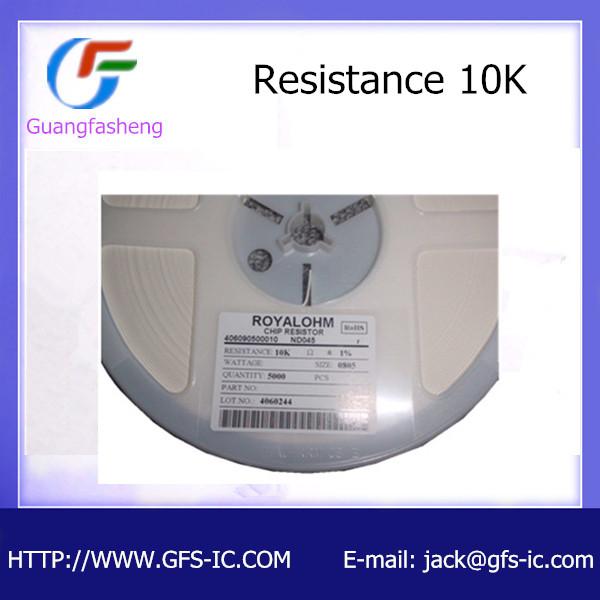 SMD resistor 0805 10K 1%