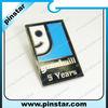 Rectangle pin badge souvenir pins emblems goodwill imitation hard enamel badge