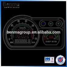 Three wheel bike H2 meter, e-bike speedometer, Motorcycle meter, motorcycle instrument , H2 power meter