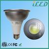 hot new products e27 dimmable cob par38 light bulb spot natural white 1300~1350lm 110v led focus lighting