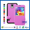 2014 Hotess cell phone leather cellphone case for samsung galaxy s5