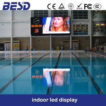 p4mm swimming pool indoor advertising led display video screen