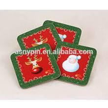2014 Christmas Gift Printing Coasters