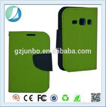 Wallet design Leather s4 mini case hot sale