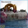 venta caliente baratos nueva transparente de tamaño humano de playa de agua inflable del zorb bola de rodillo
