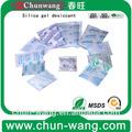 caliente venta de absorbentes de humedad de sílice desecante paquetes