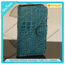 Genuine crocodile leather cell phone case for samsung galaxy s3 i9300