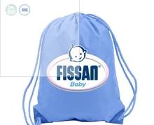 cheap custom small fabric clear vinyl bag with drawstring