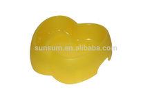 apple shape pet bowl ,plastic pet bowl, pet bowl manufacture
