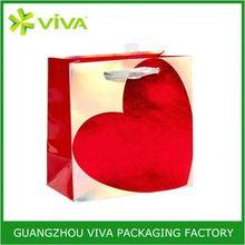 Luxury high quality art paper shopping bag brand name