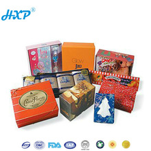 Cardboard box 1-Layer SBB Biodegradable Disposable Snack Paper Food Packagings