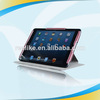 Classical protective leather tablet keyboard case for ipad mini