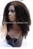 wholesale kinky curly brazilian remy hair u part wig in stock