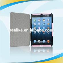 2014 Hot sale!!Factory wholesale price canvas case for ipad mini