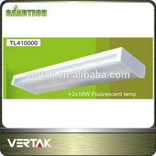 2 years warranty fluorescent light fixture plastic cover