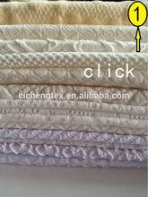 2014 shaoxing CVC jacquard knit jacquard knitting patterns