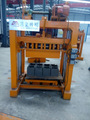 Melhor qualidade manual máquina do bloco fazendo qtj4-40 alta qualidade bloqueio manual e máquinas de fazer tijolos
