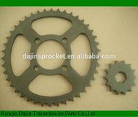 Dajin 1023 motorcycle part /motorcycle parts chain sprocket/suzuki ax100 parts