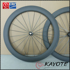 factory direct sell carbon 60mm wheels 23mm 60mm 700c wheels clincher chinese bicycle accessories
