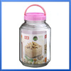 large glass apothecary jars wholesale/bulb shaped glass jar with tap