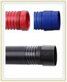 China proveedor 2-- 6 pulgadas pp flexible de la manguera de succión