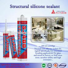 structural silicone sealant/ SPLENDOR high quality cheap silicone sealants/ water based silicone sealant