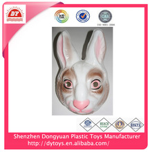 hot customized pvc halloween rabbit head mask
