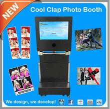 new vending Machine Portable Foldable Photo Kiosk for rental party