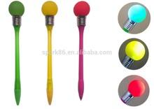 top flashing led ballpoint pen student flash pen