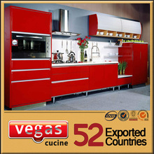 High gloss price of kitchen in china