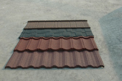 metal building material cheap asphalt shingles/stone coated metal used metal roofing sale/colour stone coated metal roofing tile