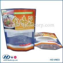 clear plastic food packaging bag