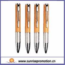 Supplier Ballpoint Metal Mini Wood Pen