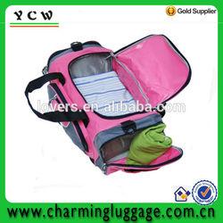 fashionable waterproof duffle bag for ladies