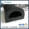 D shape rubber bumper strip for wall