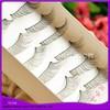 10 pairs white box eyelash soft fiber korea eyelash
